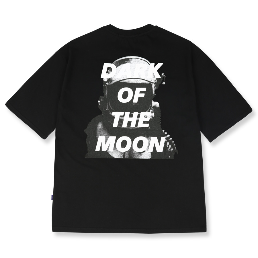 DARKMOON SCOTCH OVERSIZED T-SHIRT MUVTS011-BK