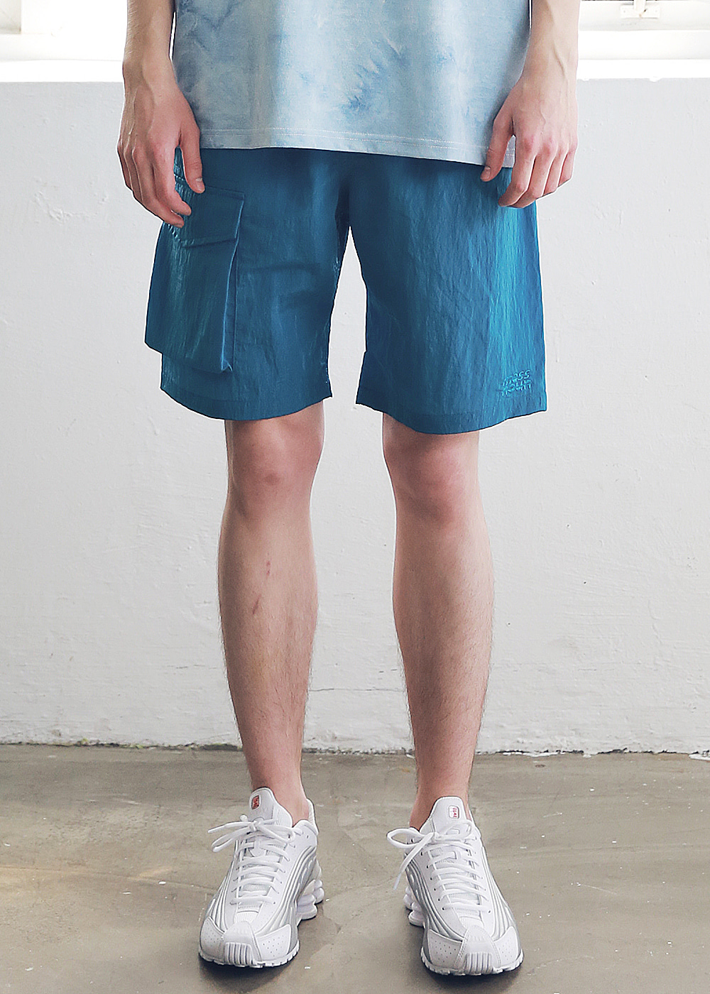 SIDE TWO POCKET SHORT PANTS MSNSP004-BL