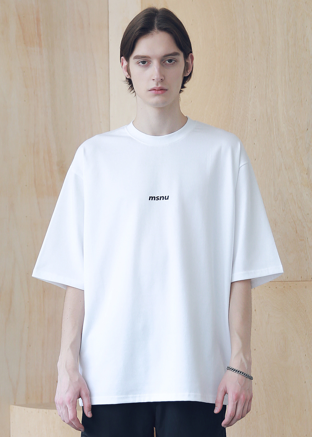 MSNU DISASSEMBLE OVERSIZED T-SHIRTS MSNTS005-WT