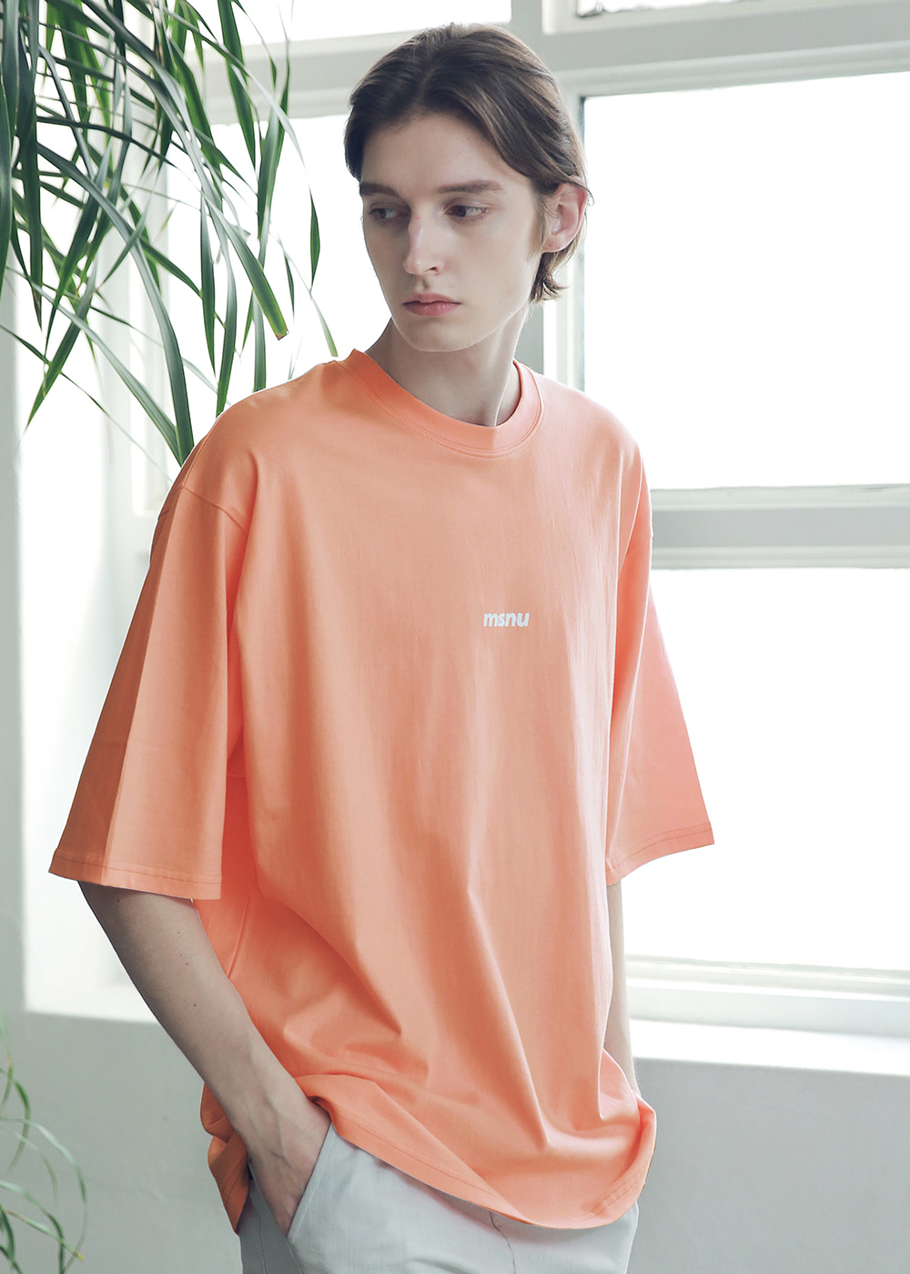 MSNU DISASSEMBLE OVERSIZED T-SHIRTS MSNTS005-CR