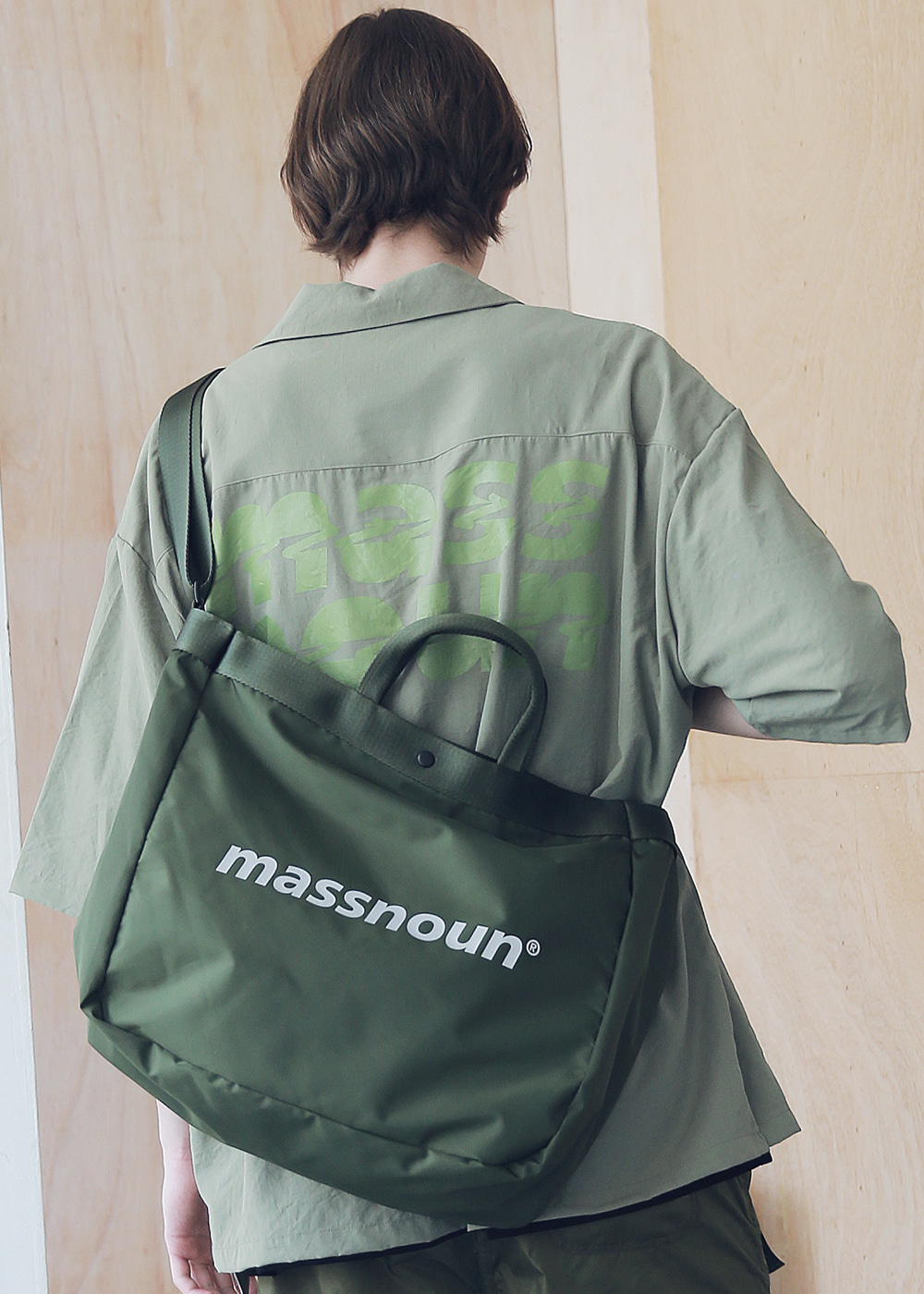 SL LOGO 3M 2WAY SHOULDER BAG MSNAB002-KK