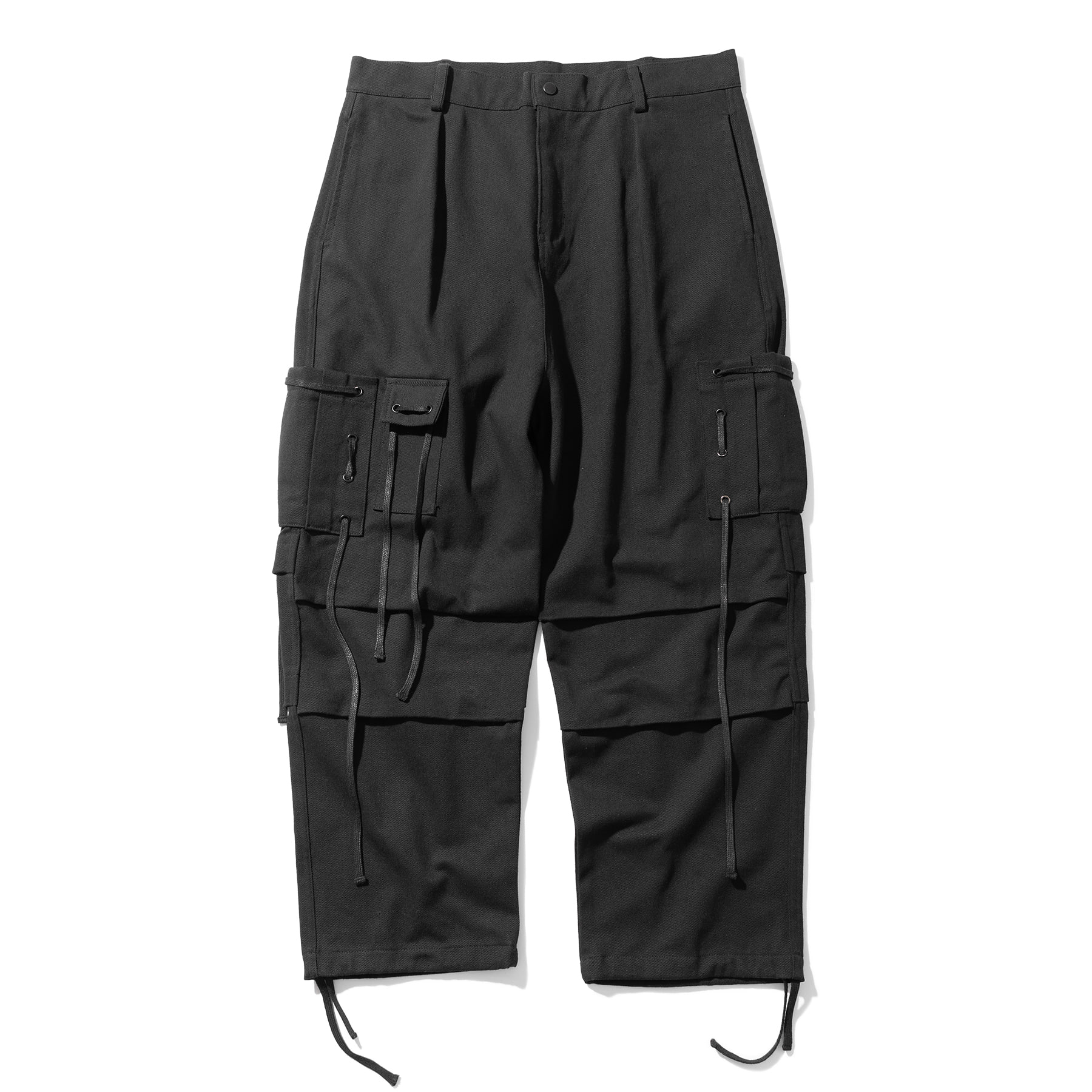 (10%)CABLE CARGO HARD COTTON PANTS MSOCP001-BK