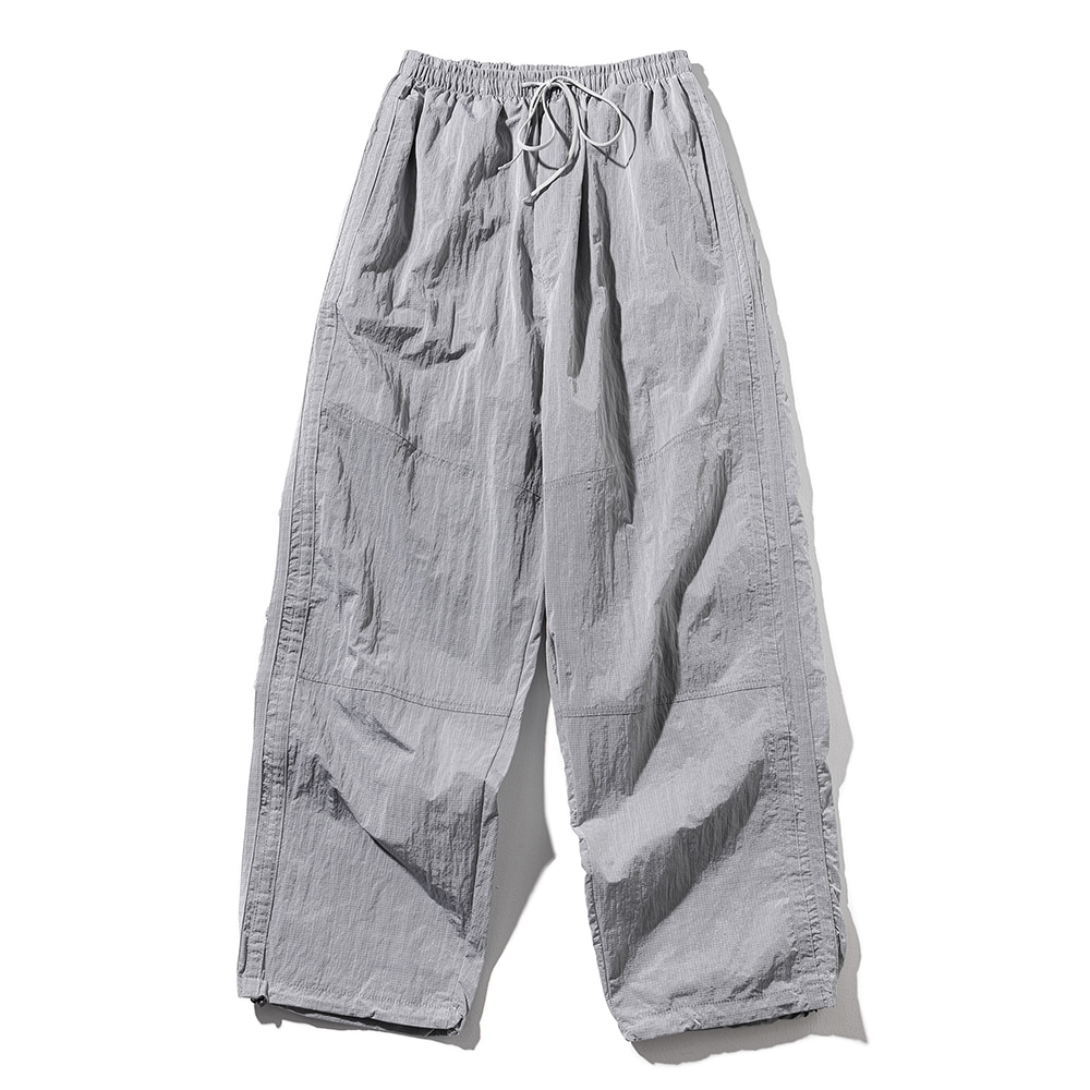 (30%)BALLOON FIT CHROME PANTS MSOTP003-GY