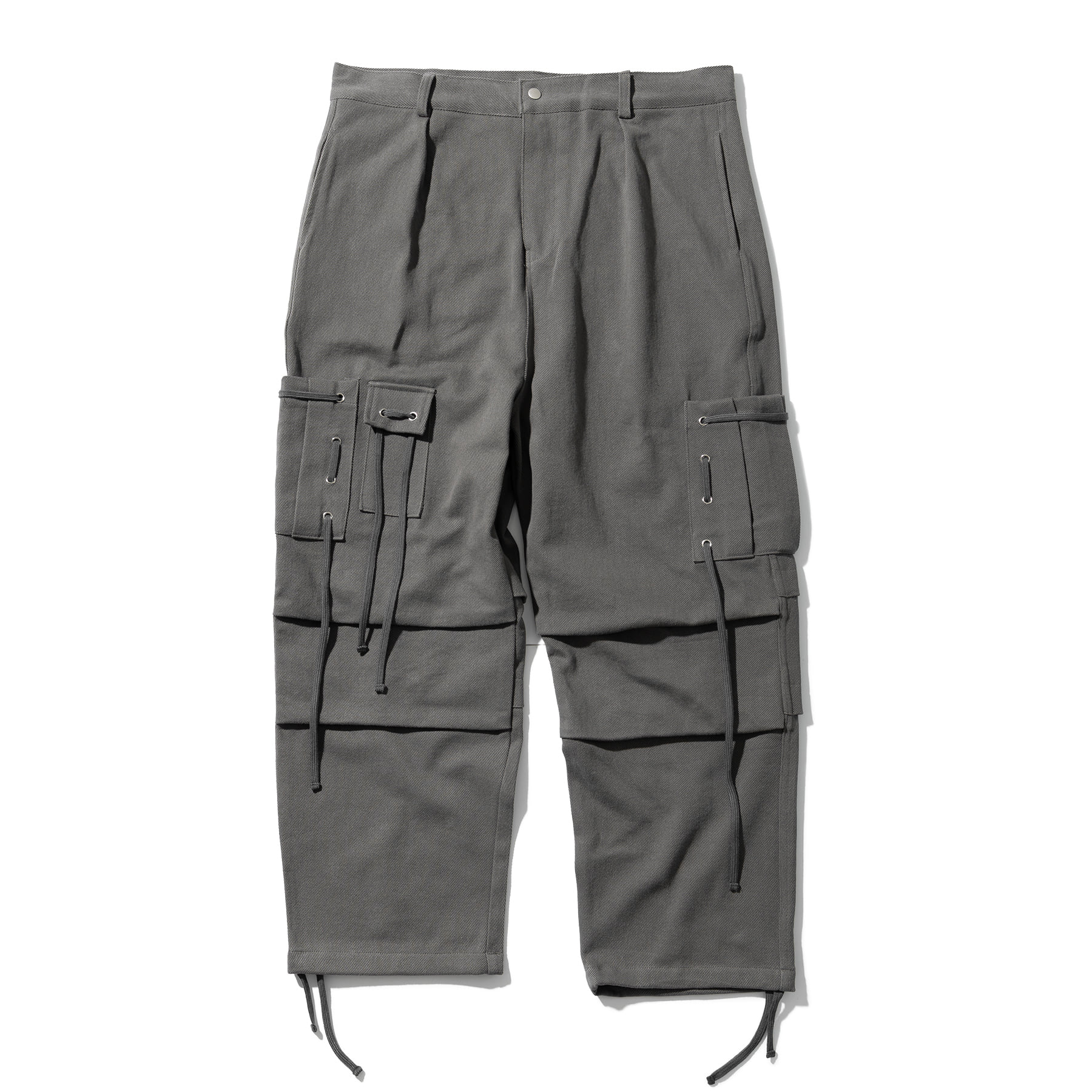 (10%)CABLE CARGO HARD COTTON PANTS MSOCP001-GY