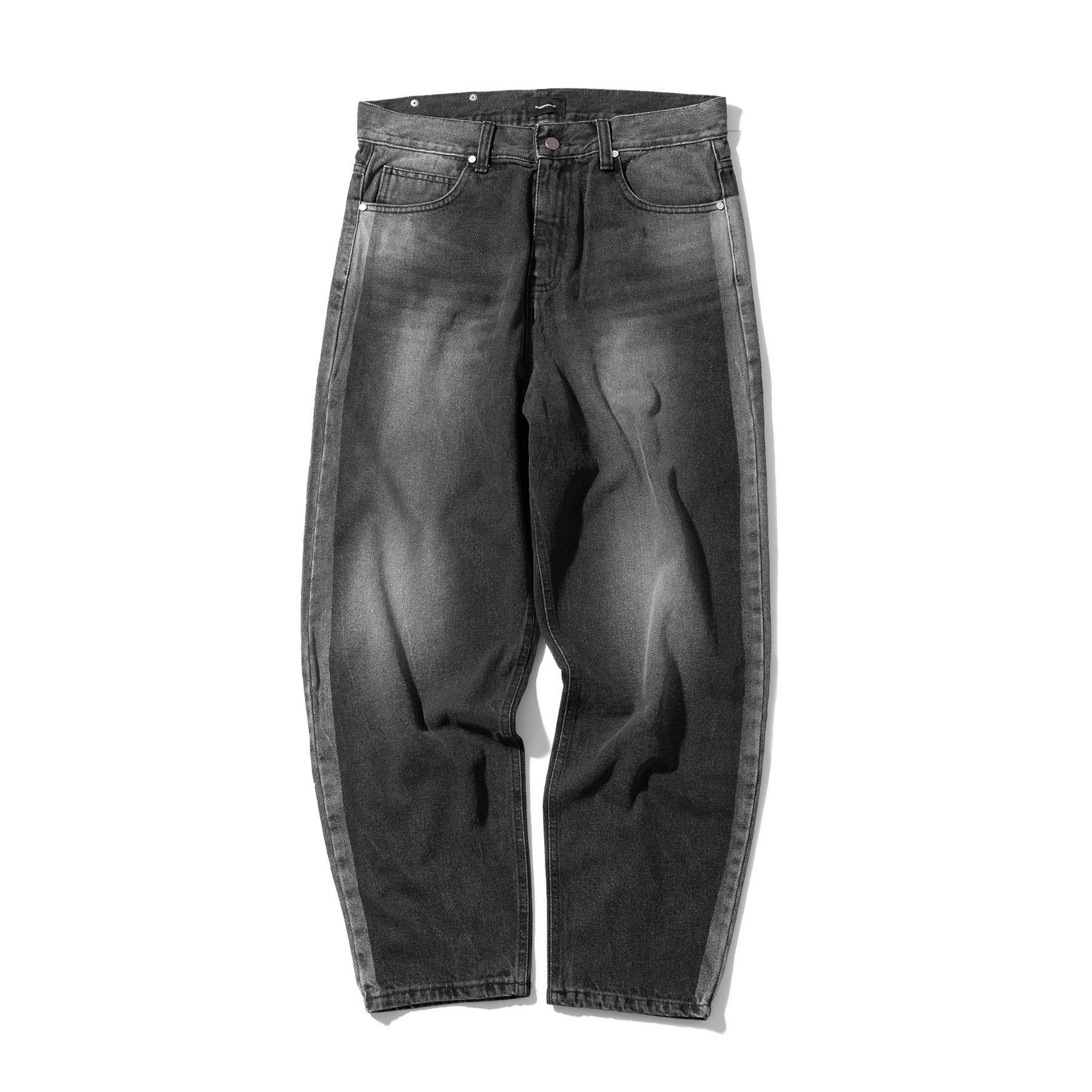 (30%)OIL-WASHED DUST DENIM PANTS MSOJP002-BK