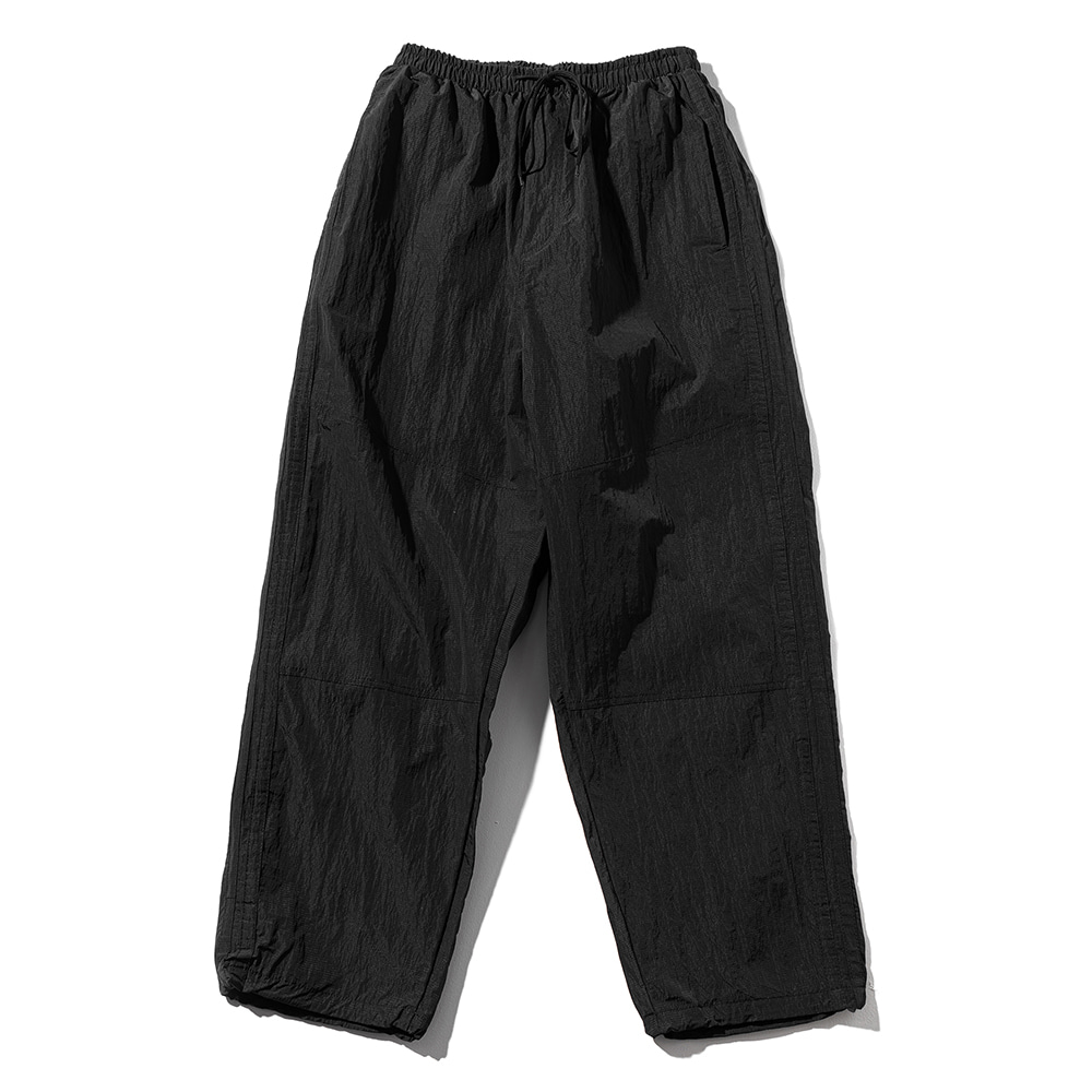 (30%)BALLOON FIT CHROME PANTS MSOTP003-BK