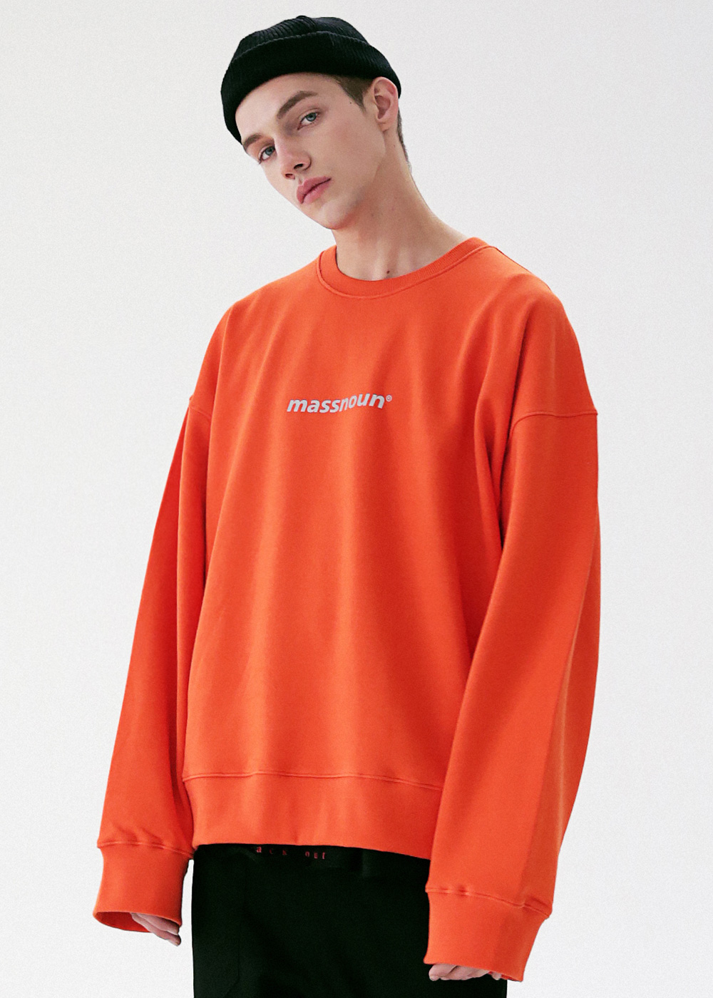 MOVEMENT OVERSIZED CREWNECK MFVCR002-OR