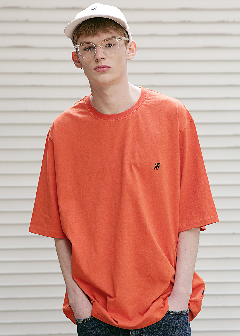 MSNU OVERSIZED T-SHIRTS MSETS004-OR
