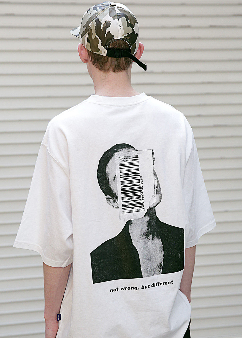 APPEARANCE OVERSIZED T-SHIRTS MSETS003-WT