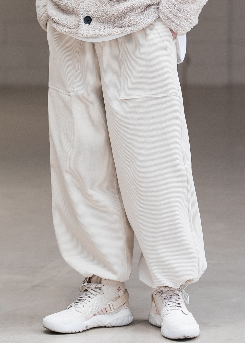 FATIGUE BALLOON JOGGER PANTS MFNCP007-IV