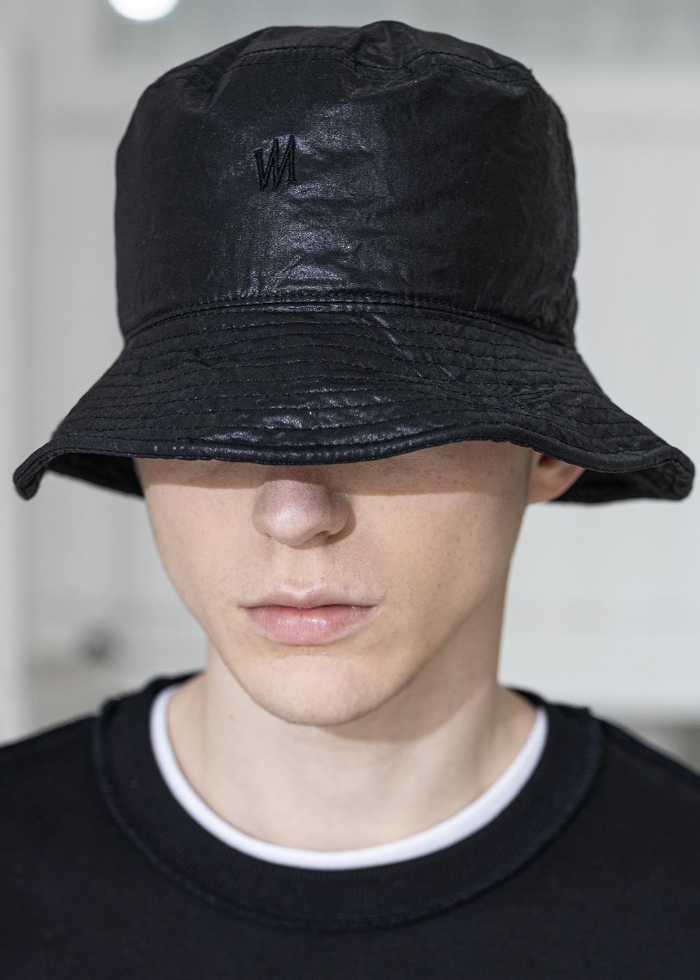 CI LOGO BRILLIANCE BUCKET HAT MSZAC003-BK
