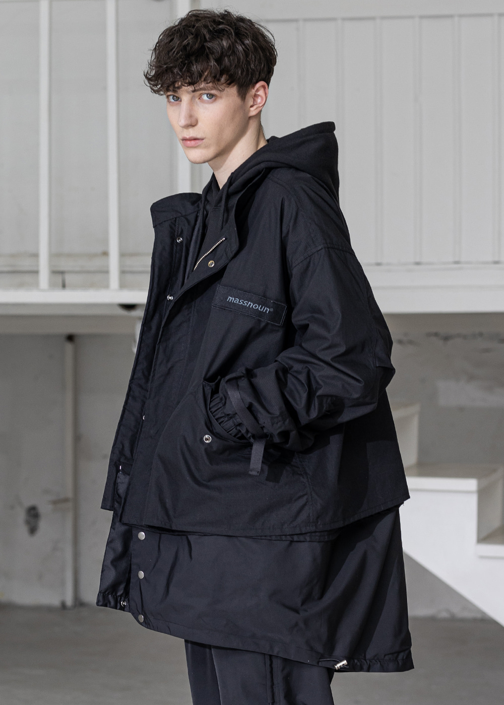 DETACHABLE M-51 FISHTAIL PARKA MSZCT001-BK