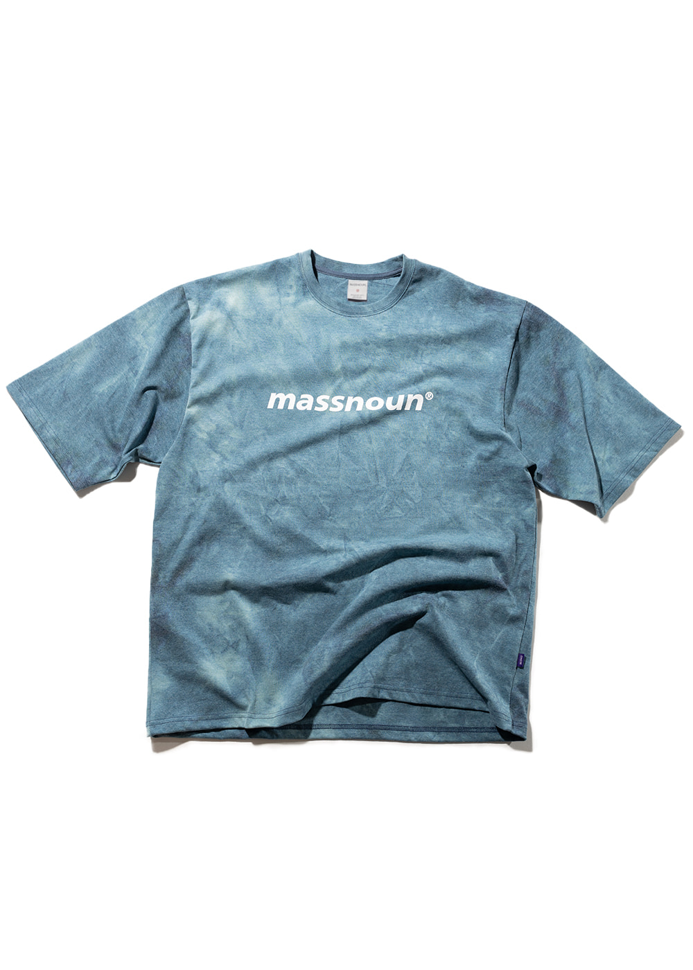SL LOGO TIE-DYE OVERSIZED T-SHIRTS MSNTS009-MR