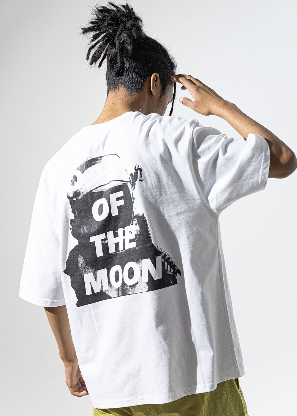 DARKMOON SCOTCH OVERSIZED T-SHIRT MUVTS011-WT