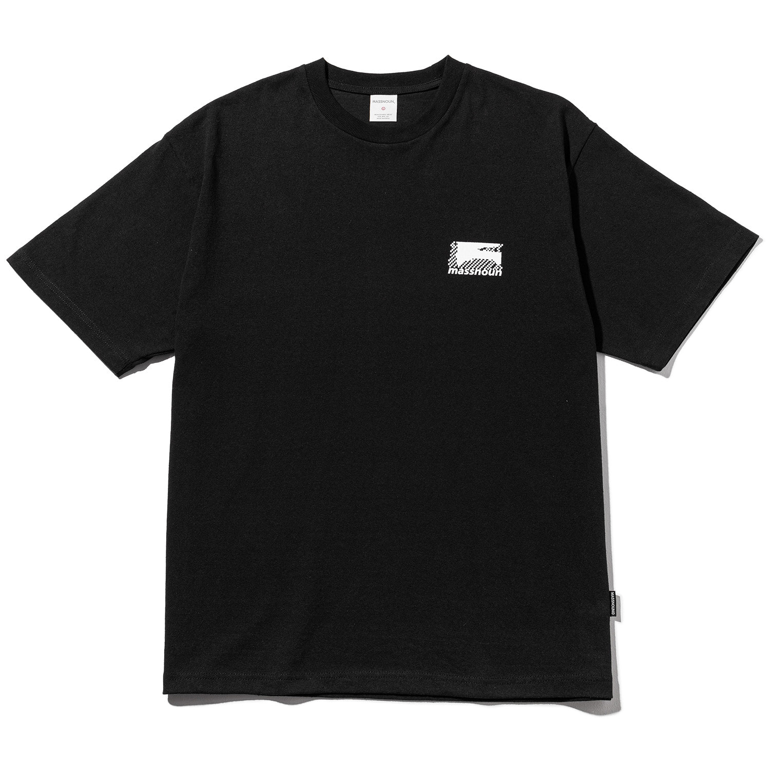 FRAGILE OVERSIED T-SHIRT MWZTS001-BK