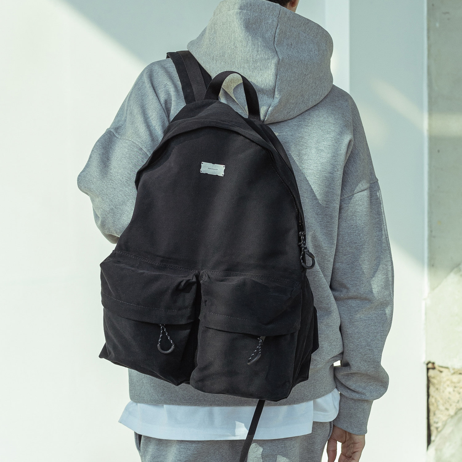 (20%)BIGSIZE FRIENDLY BACKPACK MSOAB001-BK