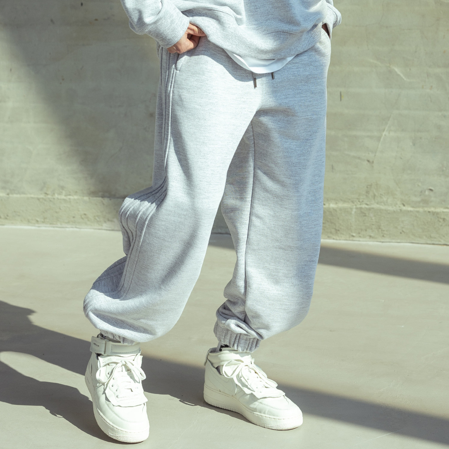 DOUBLE PIERCED TRAINNING PANTS MSOTP007-GY